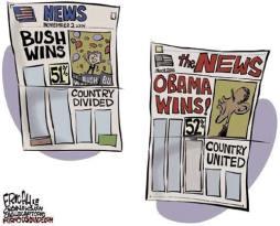 Bush vs Obama