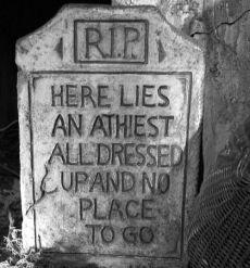 Atheist Headstone